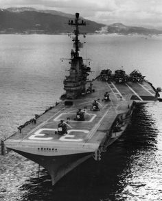 uss kearsarge cv-33  Kobe, Japan '59. I was aboard at this time on maiden Westpac cruise as CVS.