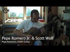 Pepe Romero Jr.'s 200th Guitar - YouTube