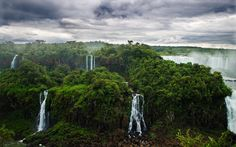 Straddling the boarder of Argentina and Brazil, Iguazu Falls is one of the most beautiful places on Earth.