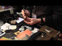 CHA 2015 - Sizzix - Tim Holtz Tiny Tattered Floral Part Two - YouTube