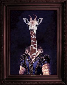 Mineheart - Eccentric British Design - 'Dame Giralda' Stretched Printed Canvas, �183.00 (http://www.mineheart.com/dame-giralda-stretched-printed-canvas/)