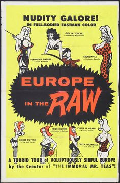 Europe in the Raw Movie Posters From Movie Poster Shop