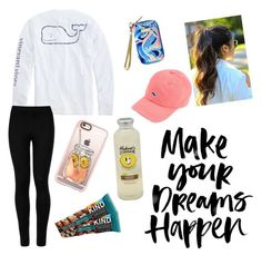 """""""I hurt my shoulder 😫"""" by pinterestemily on Polyvore featuring Vineyard Vines, Lilly Pulitzer, Wolford and Casetify"""
