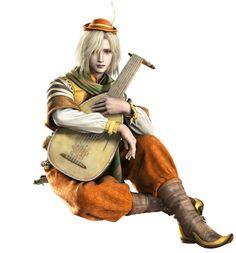 Final Fantasy IV (DS) -  Edward (Bard)