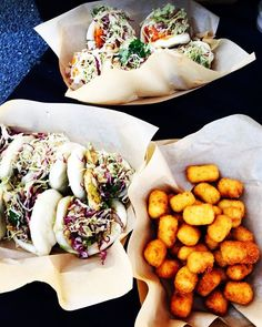 How a-BAO-t some bao buns and cheesy tots at your next event? . . . @jackrabbitkitchen #bao #chickenbao #tofubao #tots #cheesytots #tatertots #catertots #catering #food #plating #whattoeat #conferencecatering #sundaybrunch #events #eventcatering #eventideas #suppliers #planners #partyfood #eventspiration #eventpros #eventprofs by offthegridcatering.  eventspiration #events #plating #planners #chickenbao #tofubao #food #conferencecatering #eventcatering #tatertots #tots #whattoeat #partyfood…