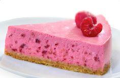 Chilled Raspberry Cheesecake