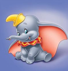 Dumbo is the Disney movie. It stars Dumbo, an elephant with big ears who is ridiculed for them. Disney Dumbo, Disney Love, Disney Pixar, Dumbo Baby Shower, Baby Dumbo, Mickey Mouse, Disney Films, Disney Cartoons, Disney Wallpaper