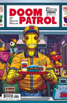Kids say the darndest things--like chanting weird incantations--in #DCYoungAnimal's DOOM PATROL #4.