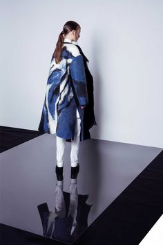 """The A/W 2016 collection is titled """"Wear Your Heart on Your Sleeve""""(WYHOYS).The design graphically showcases the tremendous damages of oil spills have done in nature and wildlife in order to pay more attention to oil pollution. All of the fabrics used are GOTS (Global Organic Textile Standard) approved"""