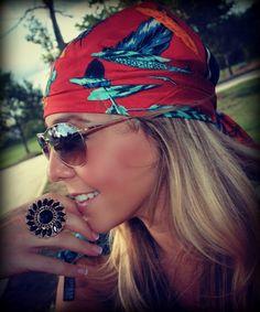 gypsy cowgirl headscarf
