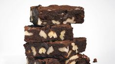 Cocoa Brownies with Browned Butter and Walnuts Recipe-the best brownies ever!! Super simple with ingredients that are always on hand. No nuts, though. Ugh.