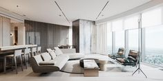 Behance :: 專屬於您 Apartment Projects, Apartment Interior Design, Asian Cafe, Luxury Homes Exterior, Four Rooms, World Of Interiors, House Interiors, Loft Style, Interior Design Services