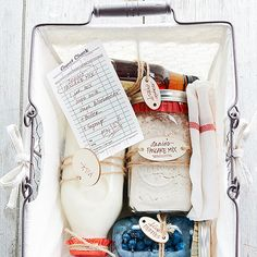 Pancake Kit. follow the link to BHG.  They have a lot of fantastic edible gift ideas!