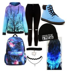 """Untitled #56"" by asilileas ❤ liked on Polyvore featuring New Look and Dr. Martens"