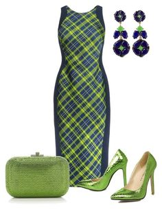 """""""Untitled #965"""" by marisol-menahem ❤ liked on Polyvore featuring Antonio Berardi, Kate Spade and Judith Leiber"""