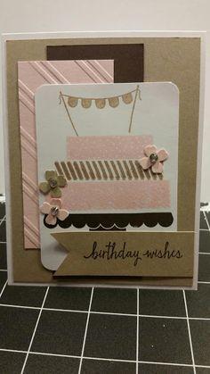 Stamp with Roberta: SU - Build a birthday