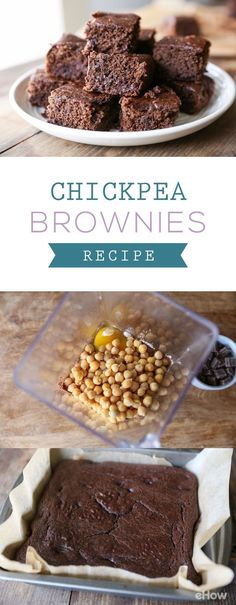 Healthier, gluten-free brownies are possible by using chick peas!  Trust us, you can't taste the beans at all... it still tastes like delicious, moist brownies. It takes about 25 minutes to bake and this recipe is so simple. Get it here: http://www.ehow.com/how_12343828_homemade-chickpea-brownies-recipe.html?utm_source=pinterest.com&utm_medium=referral&utm_content=freestyle&utm_campaign=fanpage