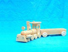 LadislavKurnota / drevený vláčik z vagónom Wooden Toys, Car, Tractor, Wooden Toy Plans, Wood Toys, Automobile, Woodworking Toys, Autos, Cars