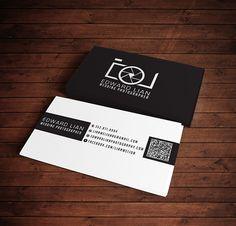 Edward Lian business card on Behance