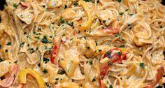 Sajtos-csirkés fajitas spagetti recept | APRÓSÉF.HU - receptek képekkel