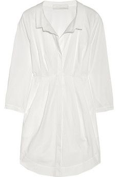 Donna Karan Cotton tunic NET-A-PORTER.COM - StyleSays
