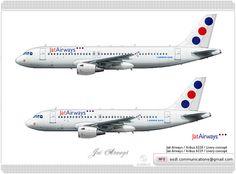 Jat Airways / Airbus A320 / Livery concept Jat Airways / Airbus A319 / Livery concept