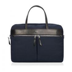Hanover Slim Briefcase Blue
