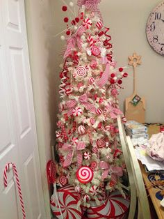 A peak into my crazy world of 26 Christmas trees under one roof