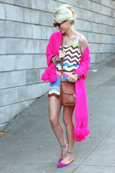 The Missoni dress is to die for..perfection from head to toe♥