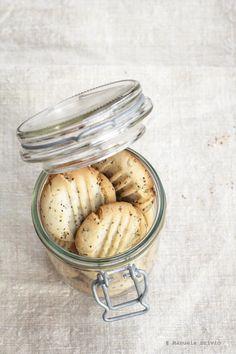 Biscotti Miele e Semi di Papavero