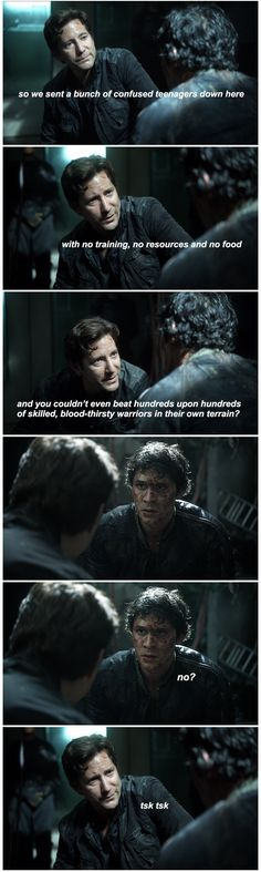 You had only one job Bellamy || Sara watches the 100 || Marcus Kane and Bellamy Blake || The 100 season 2 episode 2 - Inclement weather || Bob Morley and Henry Ian Cusick