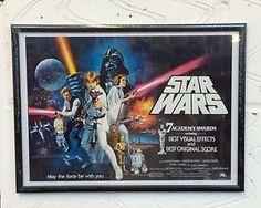 Star Wars Original Trilogy Episode 4 x Poster Collage Deluxe Flag Harley Davidson Signs, Classic Movie Posters, White Flag, Original Trilogy, Poster Colour, A New Hope, Poster Prints, Poster Collage, Star Wars Episodes
