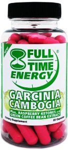Full-Time Energy Pure Garcinia Cambogia plus Raspberry Ketones and Green Coffee Bean Extract Complete Complex - Lose Weight and Burn Fat With This Extreme Weight Loss Diet Pills Formula - The Best Natural Fat Burners and Weight Loss Supplements That Works