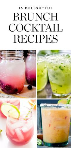 This week, ditch the O.J.—try one of these 13 cocktail recipes begging to be served at your Sunday brunch.