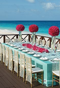 Beautiful wedding ceremony at Now Sapphire Riviera Cancun, Mexico  Image: Now Sapphire Riviera Cancun, AMR Resorts