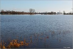 River 'the IJssel', Hattem, the Netherlands