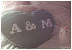 So Sunny blog. Cojín corazón. Heart shaped cushion DIY