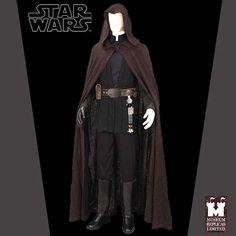 Star Wars Luke Skywalker Jedi Ensemble Costume New   eBay