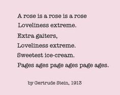 a long dress gertrude stein poems
