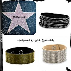 Hollywood Crystal Fashion Bracelets  Wrap your wrist in our sparkling Hollywood Crystal Fashion Bracelets. They are comfortable and stylish with a lot of sparkle. Choose from wrap or cuff bracelets.  http://kvkdesigns.com/hocrbr.html