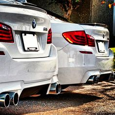 BMW M5 - Twins with twin turbos!