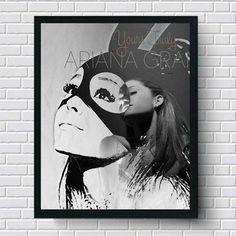 Ariana Grande Wall Art   Lisa Jaye Art Designs
