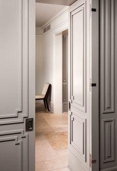 Door Molding with a nod towards Art Deco | Tim Barber Ltd Architecture