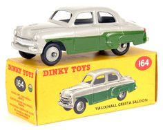 Dinky Toys Vauxhall Cresta Saloon, United Kingdom, 1956, by Meccano Ltd.