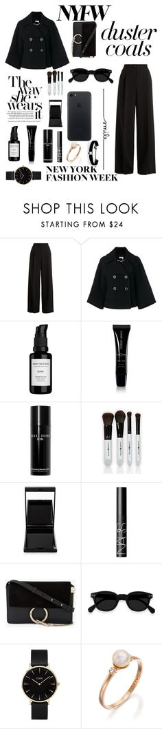 """""""Untitled #58"""" by aanya-i ❤ liked on Polyvore featuring RED Valentino, Chloé, Root Science, Giorgio Armani, Bobbi Brown Cosmetics, Surratt, NARS Cosmetics, CLUSE and Kenneth Jay Lane"""