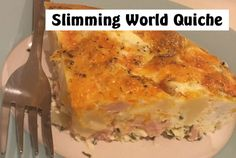 Slimming World quiche is basically a quiche with no pastry - it& delicious, easy to make and great for syn free snacking! Slow Cooker Slimming World, Slimming World Fakeaway, Slimming World Recipes Syn Free, Slimming World Quiche, Slimming World Breakfast, Slimming World Diet, Slimming Eats, Quiche Pastry, Gluten Free English Muffins