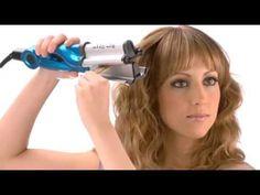 Bed Head Deep Waver Ceramic Iron NEW Hot Hair Curling Wave Styler Artist... Hair Waver Iron, Bed Head, Hair Tools, Curled Hairstyles, Curling, Hair Inspiration, Hair Ideas, Waves