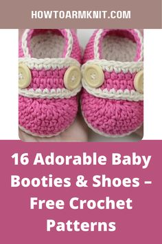 Come see these 16 Adorable Baby Booties & Shoes – Free Crochet Patterns These baby booties are so cute and fun to make! These crochet baby booties is just so awesome you are going to love this! #16AdorableBabyBooties&Shoes–FreeCrochetPatterns #Babybooties #Crochetpatterns Newborn Crochet, Crochet Baby Booties, Baby Patterns, Crochet Patterns, Wooden Crochet Hooks, Free Crochet, Cute Babies, Baby Shoes, Awesome