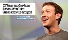 Astuces de mark zuckerberg pour économiser argent