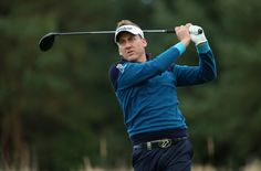 Ian Poulter playing at the British Masters wearing IJP Design's new AW15 Collection. Signup to be the first to shop. http://www.ijpdesign.com/global/the-autumn-winter-15-collection